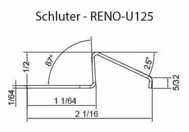 Schluter® RENO-U Tile Floor Edging Profile large image 10