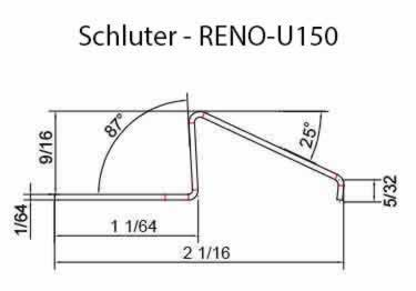 Schluter® RENO-U Tile Floor Edging Profile large image 11