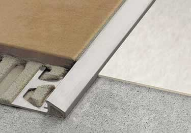 Countertop Nosing Options : Schluter? RENO-U Tile Floor Edging Profile