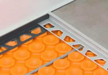 Schluter® DECO - Tile Floor Edging Profile large image 1