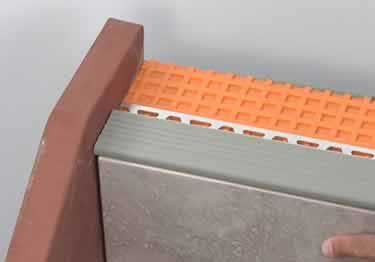 Schluter® Stair Nosing TREP-SE-S-B Profiles large image 1
