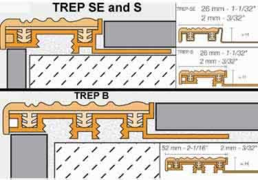 Schluter® Stair Nosing TREP-SE-S-B Profiles large image 6