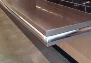 McCue® Wall Guards Stainless Steel Bumper large image 13