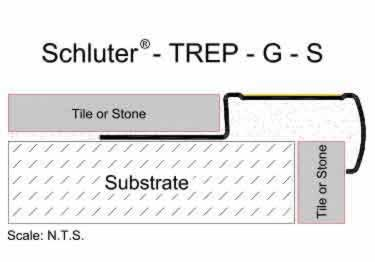 Schluter®-TREP-G and GK - Slip Resistant Stair Nosing Profile large image 14