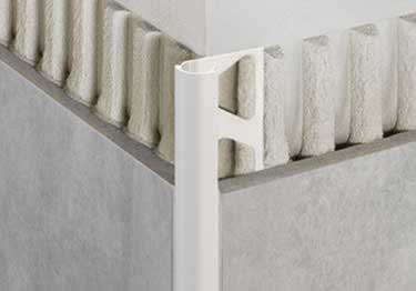 Schluter®-Rondec Wall and Countertop Profile - Color-Coated