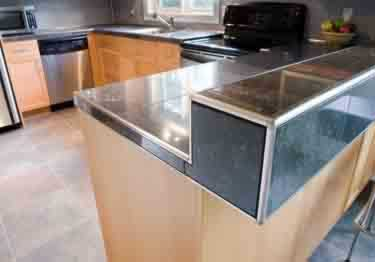 Schluter®-Rondec Wall and Countertop Profile - Stainless Steel large image 4