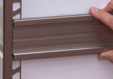 Schluter® QUADEC-FS Double Rail Strip Tile Edging - Aluminum large image 15