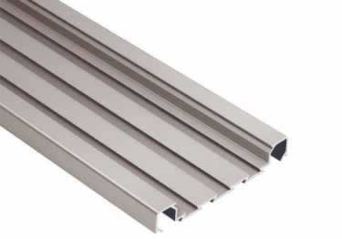 Schluter® QUADEC-FS Double Rail Strip Tile Edging - Aluminum large image 9