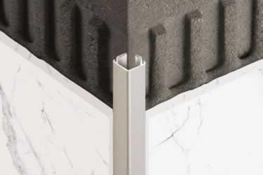 Schluter® QUADEC K Aluminum Wall Edging