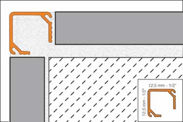 Schluter® QUADEC K Aluminum Wall Edging large image 6