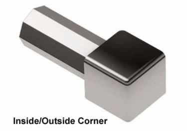 Schluter®-QUADEC Wall | Countertop Stainless Steel Edging large image 9