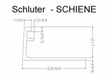 Schluter® SCHIENE Tile Edging large image 7