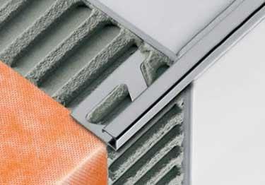 Schluter® QUADEC Aluminum Wall | Countertop Edging