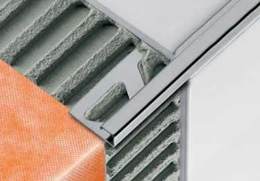 Schluter® QUADEC Aluminum Wall | Countertop Edging