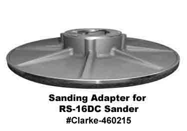 Floor Sanding Machine | Adapter | Clarke American Sanders large image 6