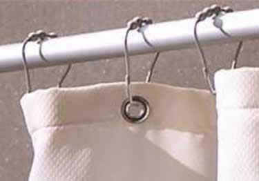 Inpro® Shower Curtain Rods and Rings large image 6