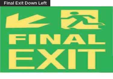 Exit Signs-NYC and California Code Rated large image 10