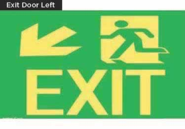 Exit Signs-NYC and California Code Rated large image 12