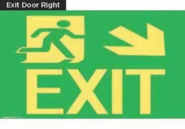 Exit Signs-NYC and California Code Rated large image 13