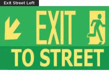 Exit Signs-NYC and California Code Rated large image 14