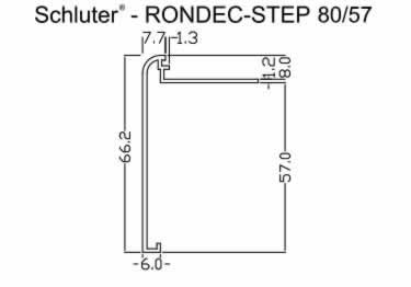 Schluter®-RONDEC STEP Stairs and Countertop Profile - Aluminum large image 10