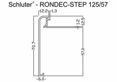 Schluter®-RONDEC STEP | Counter Copper, Brass, Bronze large image 12