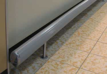 Floor Mounted Bumper Guards