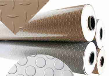 Vinyl Metallic Color Flooring Rolls