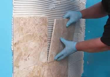Feature Mapei Corporation January 2017 Tileletter Tile Mortar Construction Notched Trowel