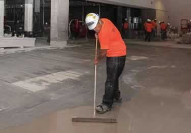 Floor Patching and Self-Leveling