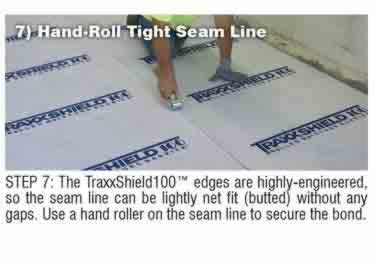 Concrete Moisture Barrier Peel&Stick by Traxx™ large image 13