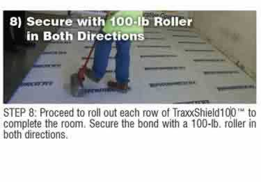 Concrete Moisture Barrier Peel&Stick by Traxx™ large image 14