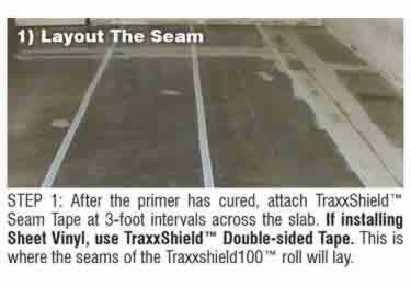 Concrete Moisture Barrier Peel&Stick by Traxx™ large image 7