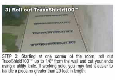 Concrete Moisture Barrier Peel&Stick by Traxx™ large image 8