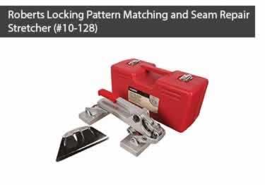 ROBERTS 10-128 CARPET SEAM REPAIR MINI STRETCHER WITH CASE