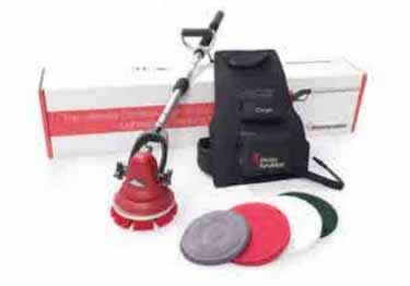 Motor Scrubber Cordless Cleaning Machine large image 5