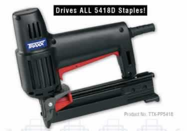 Carpet Staples and Stapler by TRAXX large image 13