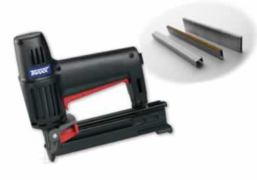 Carpet Staples and Stapler by TRAXX