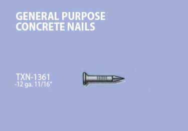 Carpet Tack Strip Concrete Nails by TRAXX™ large image 9