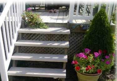 Interior and Exterior Plastic Composite Stair Treads large image 13