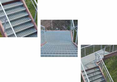 Interior and Exterior Plastic Composite Stair Treads large image 16
