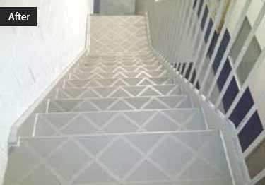 Interior and Exterior Plastic Composite Stair Treads large image 3