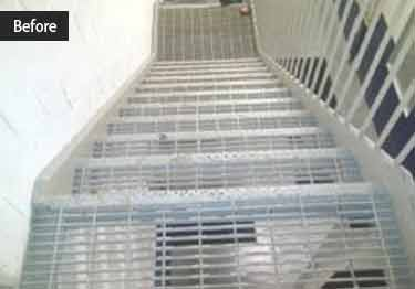 Interior and Exterior Plastic Composite Stair Treads large image 4