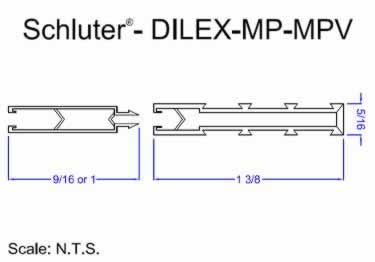 Schluter®-DILEX-MP and MPV - Movement Joint Profile large image 8