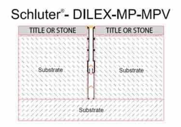Schluter®-DILEX-MP and MPV - Movement Joint Profile large image 9