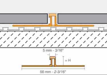 Schluter®-DILEX-BWS - Surface Joint Profile large image 7