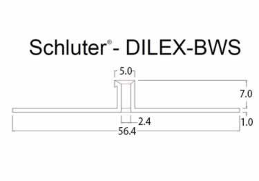 Schluter®-DILEX-BWS - Surface Joint Profile large image 9