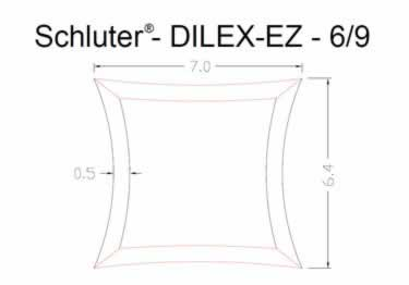 Schluter®-DILEX-EZ - Movement Joint Profile large image 8