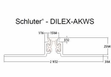 Schluter®-DILEX-AKWS - Surface Joint Profile large image 7