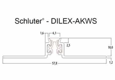 Schluter®-DILEX-AKWS - Surface Joint Profile large image 8